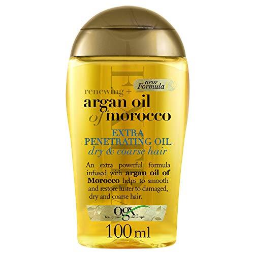 Ogx Arganolja av Marocko Extra Penetrerande Hårolja för Torrt Hår, 100 ml