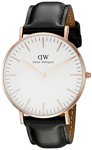 Daniel Wellington Classic Sheffield Lady, Orologio da Polso Donna, Quadrante Colore Oro Rosa