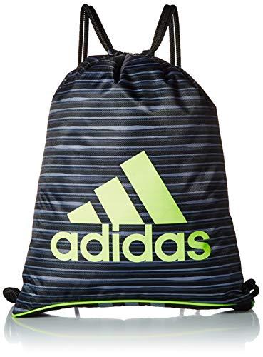 adidas Burst II Sackpack, Borsa Unisex-Adulto, Nero Andreas/Nero/Hi-RES Giallo/Onix, Taglia Unica