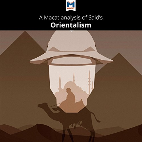 A Macat Analysis of Edward Said's Orientalism audiobook cover art