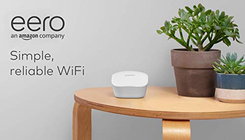 Amazon eero mesh wifi router 13 fast standalone router - the eero mesh wifi router brings up to 1,500 sq. Ft. Of fast, reliable wifi to your home. Works with alexa - with eero and an alexa device (not included) you can easily manage wifi access for devices and individuals in the home, taking focus away from screens and back to what's important. Easily expand your system - with cross-compatible hardware, you can add eero products as your needs change.