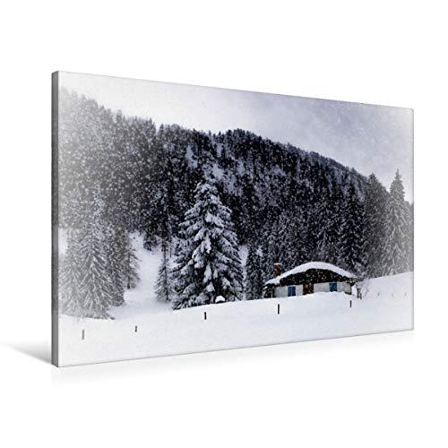 Calvendo Mercant - Braga de Cuento de Invierno para Hombre, Color Blanco, 90x60 cm