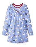 Hatley Mädchen Long Sleeve Nighties Nachthemd, Regenbogen-Einhörner, 2 Years