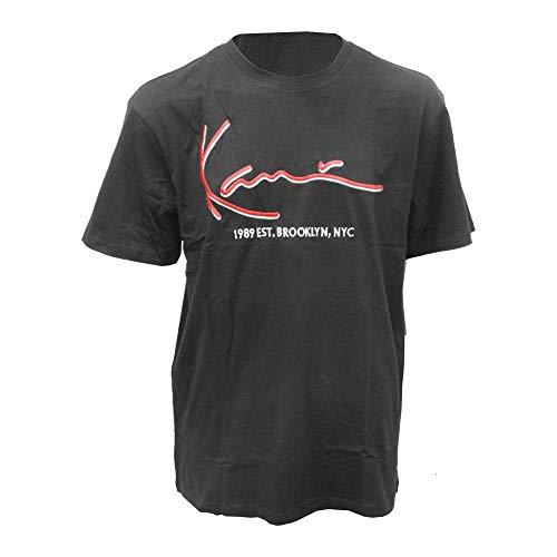 Karl Kani - Camiseta 6060584 KK Signature tee Black - 6060584BLACK - Black, X-Small