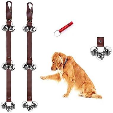 CWXZSTM Dog doorbell Dog doorbell for Potty Training wear 7 Large Metal Bells Adjustable Length product image