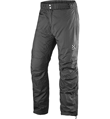 Haglöfs Thermohose Herren Thermohose Barrier Wärmend, Atmungsaktiv, Wasserabweisend True Black XL XL - Empty for carryovers -