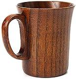Tazas de té japonesas de madera natural de azufaifa, tazas de té de madera maciza, taza de café, taza de vino para beber té, café, bebidas calientes, A10