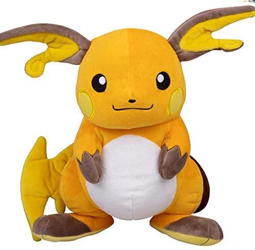 N\A 35cm Pokemon Raichu Plüschtier, Pikachu Raichu Stofftier 35cm Gelb