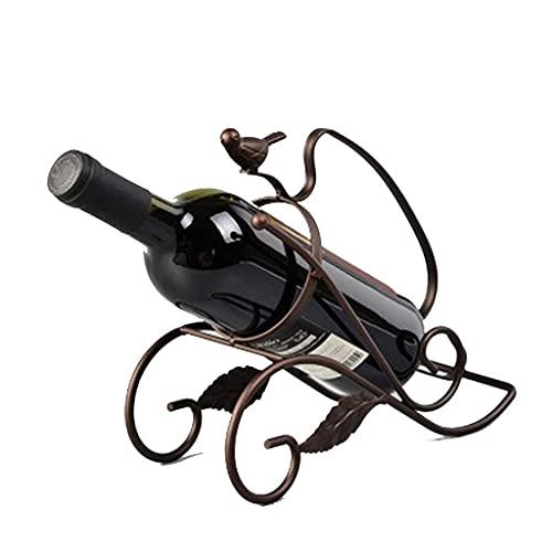 Estante de Vino s Estante de Vino Europeo Creativo Estante de Vino Decoración Vino Muebles Familiares Estante de Botella de Vino Estante de Vino Minimalista Moderno (Color: