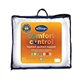 Silentnight Multi-Zone Heated Quilted Topper, King, White