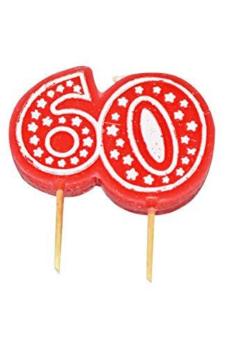 Aptafetes - Bougie anniversaire 60