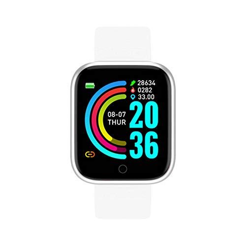 N-B Y68 reloj inteligente mujeres hombres deporte Bluetooth inteligente podómetro monitor de ritmo cardíaco D20 impermeable Tracker pulsera