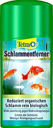 Tetra Pond Schlammentferner (reduziert Schlamm in Gartenteichen, wirkt rein biologisch), 500 ml Flasche