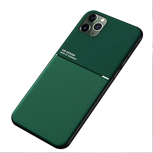Kepuch Mowen Case Capas Placa de Metal Embutida para iPhone 11 Pro - Verde