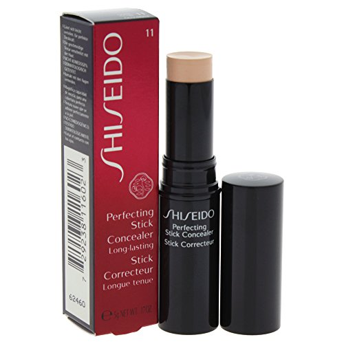 Shiseido Perfecting Stick Concealer unisex, Abdeckstift 5 g, Farbe: 11 light, 1er Pack (1 x 0.026 kg)