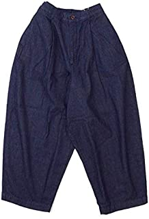 HARVESTY (ハーベスティ) DENIM WIDE EGG LONG PANTS デニムワイドエッグロングパンツ A21702