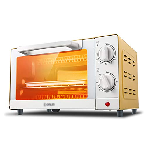 mini fours Mini four multifonction électrique 10L de four de ménage de DL-K10 faisant cuire la petite taille de boîte de cuisson au four: 33.7 * 20.2 * 22cm