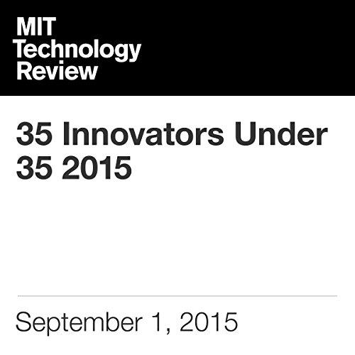 35 Innovators Under 35 2015 audiobook cover art