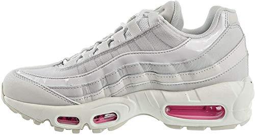 Nike Damen WMNS Air Max 95 Se Leichtathletikschuhe, Mehrfarbig (Vast Grey/Psychic Pink/Summit White 2), 39 EU