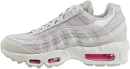 Nike WMNS Air Max 95 Se, Chaussures d'Athlétisme Femme, Multicolore (Vast Grey/Psychic Pink/Summit White 2), 39 EU