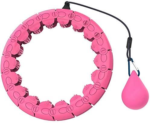 Hula Hoop-Aro de fitness para adultos Hula aptitud del aro de neumáticos masaje del aro de Hula no baja Yoga Pérdida de peso del aro de Hula Artefacto Equipo deportivo adecuado for adultos y niños SJZ