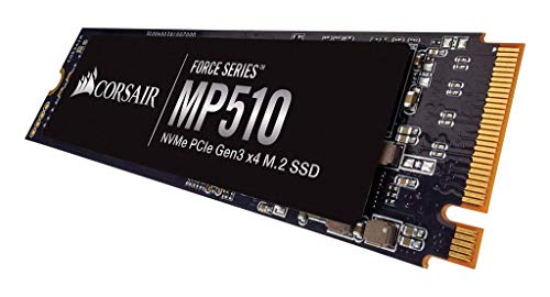 Corsair Force MP510 960 GB NVMe PCIe Gen3 x4 M.2-SSD (bis zu 3,480 MB/s)