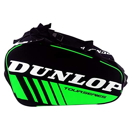 Dunlop Tour Series - Bolsa de padel color verde