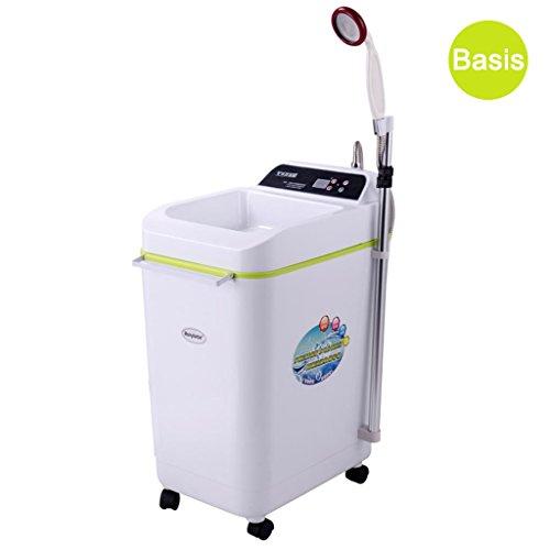 XIAO J 220V Elektrische Instant Badezimmer Dusche Warmwasserbereiter Mit Dusche Eingeschlossen Instant Warmwasserbereiter Unter Senke 100L 2000 Watt (Farbe : A, größe : 100L)