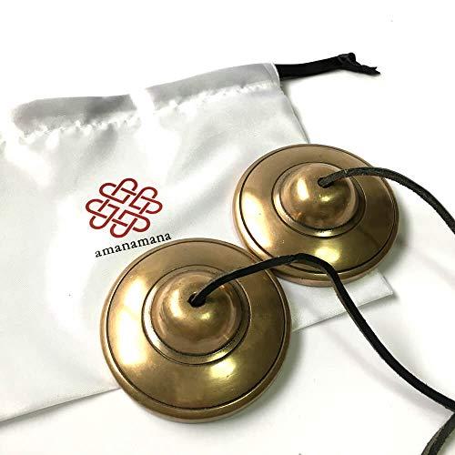 【公式】ティンシャ アマナマナ スペシャルティンシャ ヨガ・癒やしのプロ用 チベット ベル チベタンベル 瞑想 楽器