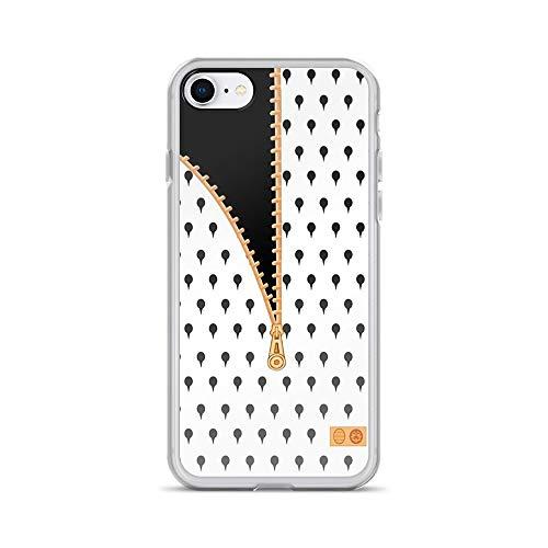 iPhone 7/8 Pure Clear Case Cases Cover Bruno Bucciarati/Buccellati Design -  hopolo
