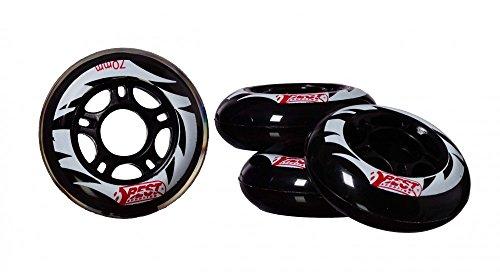 Best Sporting Ersatzrollen für Inline Skates, Größe 64 mm, Größe:64 mm