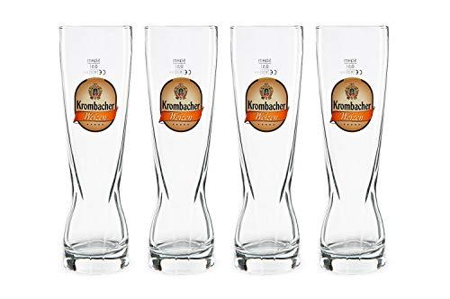 Krombacher Weizen Gläser 4x0,5l Gastro Edition
