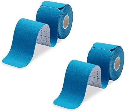 Kinesiology Tape Precut 2 Rolls Pack Athletic Kinesiology Tape for Muscle Joints Physical Therapy product image