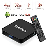 Android TV BOX 9.0[Ultima Versione 2019],Leelbox TV Box Android Q4 RK3328 Quad...