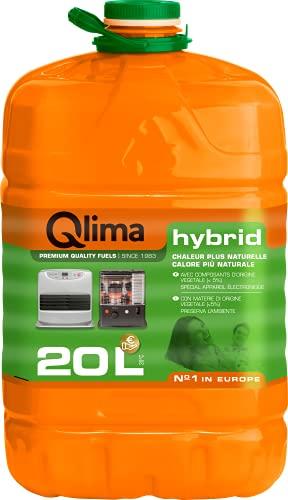 "Combustibile liquido per stufe Qlima Hybrid - 20 litri - a base ""vegetale""- qualità A++ - in tanica riciclabile PET, programma fedeltà Qlima"