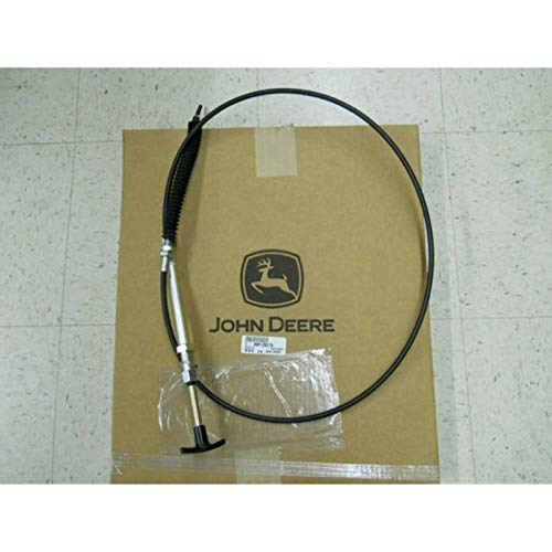 John Deere AM126215 Chute Control Cable - 42-in Snow Thrower - 240 265 345 GT235 GX345 LX176 LX255