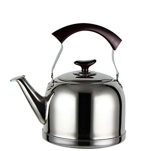 Bouilloire en acier inoxydable bouilloire à gaz cuisinière à induction bouilloire grande capacité 5L UOMUN