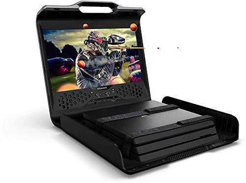 Gaems Sentinel Pro Xp 1080P mobile Gaimn Case für Spielekonsolen, 17.3 Zoll FHD Monitor, Kompatibel mit Xbox One, Xbox One S und PlayStation 4 (Pro, Slim und Standard) (Konsole nicht enthalten)