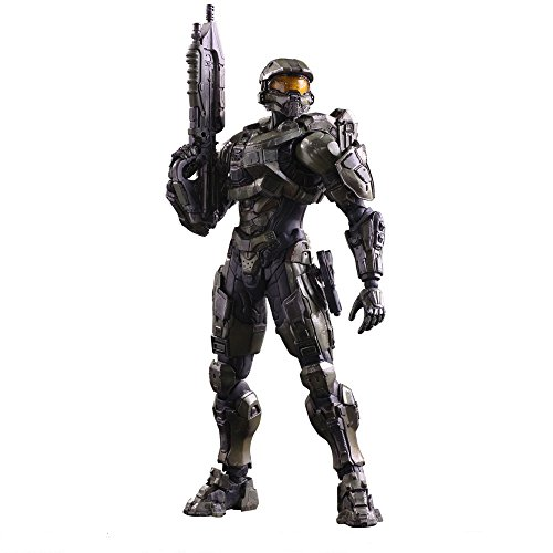 Play Arts Kai - HALO 5 GUARDIANS Master Chief Scale Complete Figure John Assault Rifle Handgun 117 Character Model 343 Industries Microsoft Studios Xbox One Square EnixSquareEnix