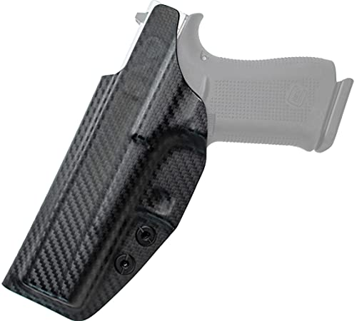 CYA Supply Co. Base Inside Waistband Holster (Carbon Fiber) Concealed Carry IWB Veteran Owned Company Fits KAHR PM9/CM9
