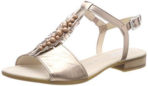 Gabor Shoes Damen Comfort Sport Riemchensandalen, Mehrfarbig (Rame), 38.5 EU