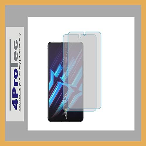 4ProTec | 2X Bildschirm-Schutz-Folie MATT für Nubia Red Magic 6R