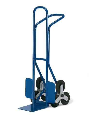 Rollcart 20-9893 Junior-Treppenkarre 3er-Stern, RAL5010 enzianblau