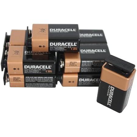 Duracell Alkaline Battery Mn1604 6lr61 9 Volt Set Of 6 Elektronik
