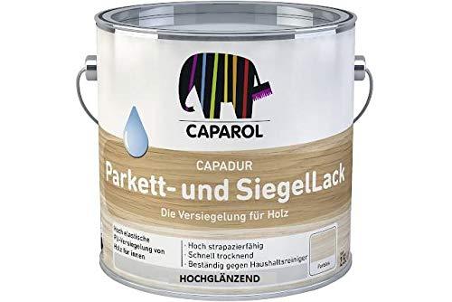 Caparol Capadur Parkettlack und Siegellack - Hochglanz 2,5 Liter