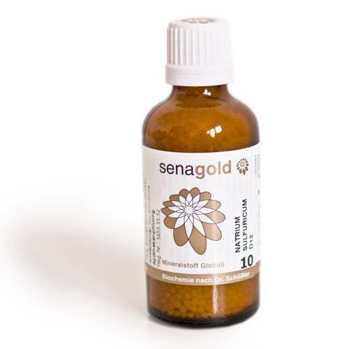 Schuessler Salz Nr.10 - Natrium sulfuricum D6 - Globuli 50 g, laktosefrei