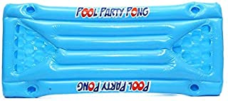 BianchiPatricia Inflatable Beer Pool Pong Float Table Raft Lounge Party Game 24 Cup Holder