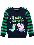Peppa Pig Sudadera para niños George Pig Azul 2-3 Años
