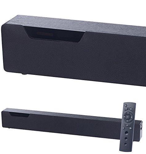 auvisio Lautsprecher für TV: Stereo-Soundbar mit Bluetooth 4.0, 2 integr. Subwoofern, DSP, 120 Watt (Sounddeck)
