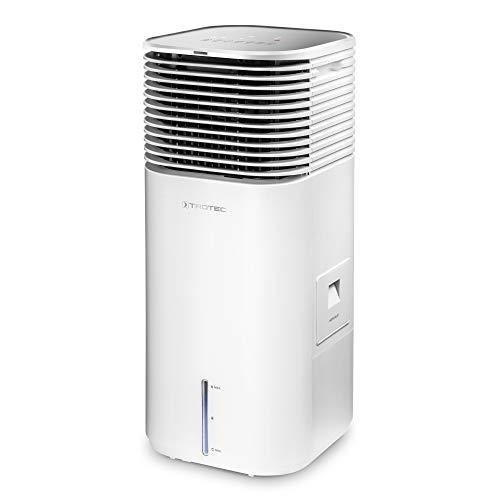 TROTEC Climatizador PAE 49, 4 en 1: Enfriamiento, Ventilación, Purificación, Humidificación, 4 Niveles de ventilación, Temporizador, Incluye Enchufe con higrostato BH30